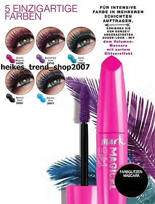 AVON Mark Big & Magical farbige Volumen- Mascara mit Glitzereffekt !!!! BrandNeu - Effekt Mascara