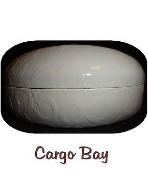 NEW AUTHENTIC WHITE COACH LOGO EXTRA LARGE HARD SUNGLASSES CASE FREE SHIPPING