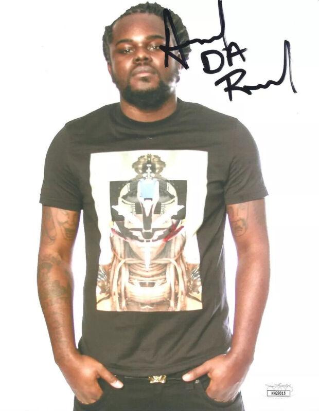 ARSONAL DA REBEL signed 8x10 Photo Rap Battle Rapper Freestyle Hip Hop JSA