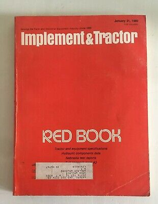 1980 Farm Tractor And Implement Red Book - International John Deere Ford Oliver