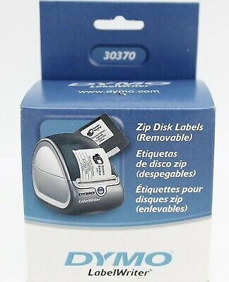 [NEW]  DYMO LabelWriter Zip Disk Labels (Removable), 30370, SEALED, ORIGINAL, used for sale  Shipping to India