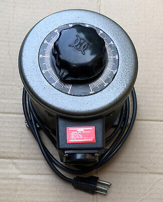 Tenma 72 110 Variable Auto Transformer W Built -in Amp Meter