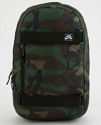 Nike SB Courthouse Camo/Black Printed Backpack Skateboard BA5438-223