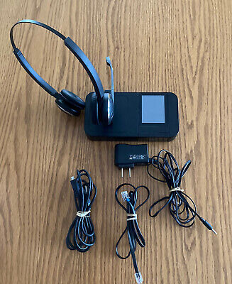Jabra PRO 9460 Duo With Flex Headset - Tested - Complete With All Cables
