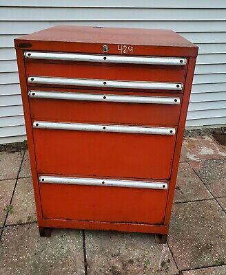 Lista Usa Heavy Duty 6 Drawer Storage Cabinet Machinst Tool Cart Box Chest