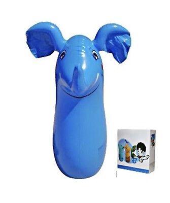 Elefante Gonfiabile Sacco da Boxe Giocattolo 3D Bop Borsa da Gonfiare