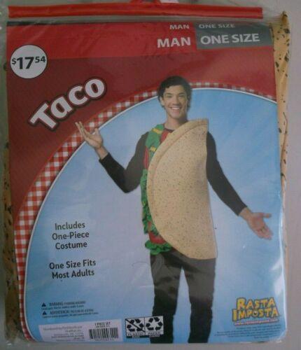 New Adult Halloween Costume Rasta Imposta TACO Men