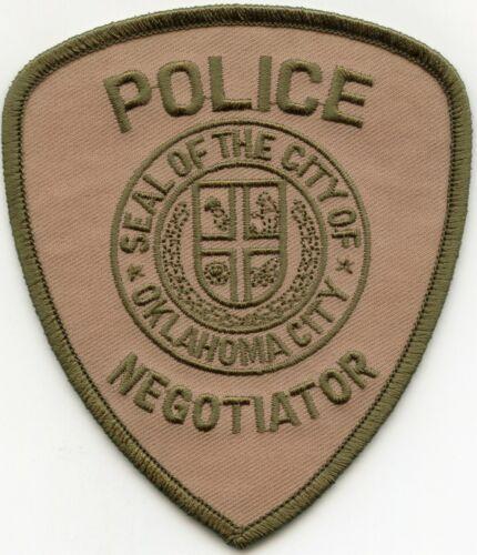 OKLAHOMA CITY OKLAHOMA OK Hostage Negotiator POLICE PATCH