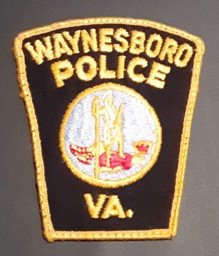 WAYNESBORO VIRGINIA POLICE PATCH SHOULDER SIZE
