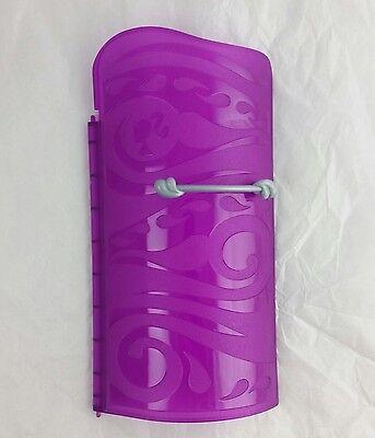 Barbie Dream House Replacement Parts 2013 - Purple Shower Door A117 NEW (Barbie Shower)