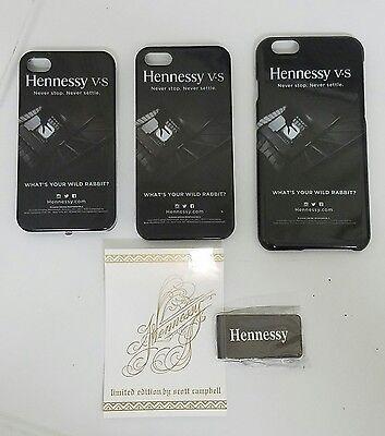 Black Seal Money Clip - Hennessy cognac iPhone case Steel metal Money Clip lot BRAND NEW SEALED sticker
