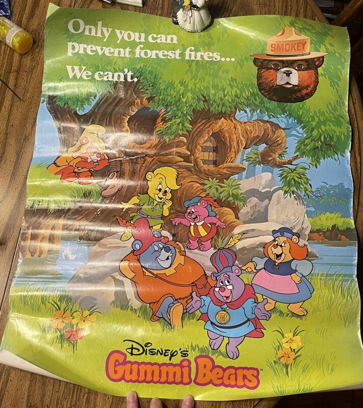 1986 Smokey Bear Disney