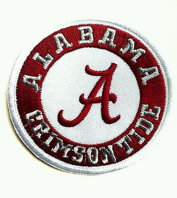 Alabama Crimson Tide Ncaa Football 3  Embroidered Iron Or Sew On Patch
