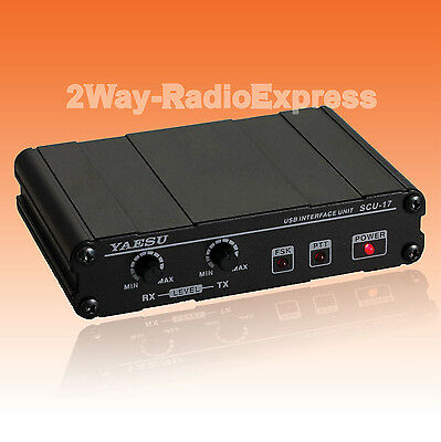 YAESU SCU-17 USB Interface Unit FT-450D FT-817ND FT-857D FT-897D FT-891 FT-950