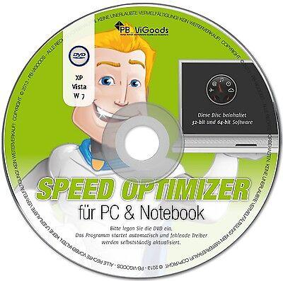 PC Tuning Cleaner Windows Optimizer CDDVD für PCs Notebooks TOP