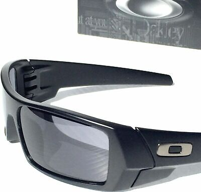 REAL OAKLEY GASCAN Matte BLACK w Grey lens Sunglass NEW  03-473