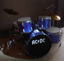 ACDC DRUMS SET UP MUSIC INSTRUMENTS DISPLAY OF ACDC. Altona Meadows Hobsons Bay Area Preview