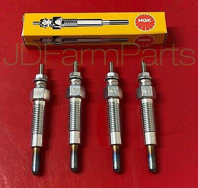 Bobcat 743 643 743b Glow Plug Set Diesel 76234 15221-65510 15401-65510 Kubota