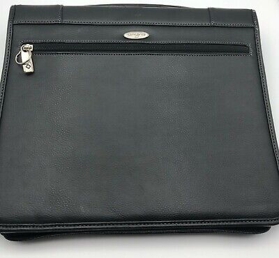 48 Samsonite Zip-around Leather-like 3-ring Padfolio