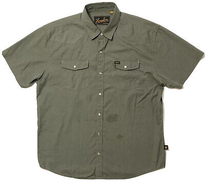 Howler Bros Men's Button Up Shirt Pearl Snap Size Large