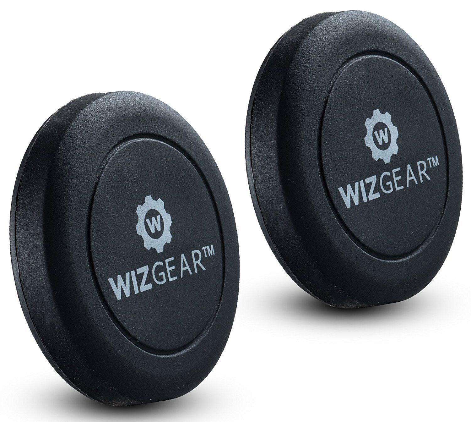 WizGear Universal Flat Stick On  Dashboard Magnetic Car Moun