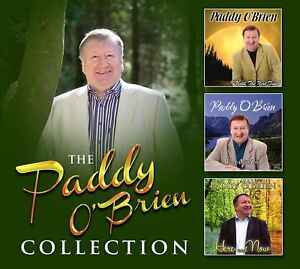 Paddy O'Brien - The Collection 3CD Set - Brand New & Sealed