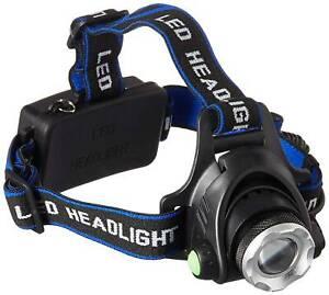 Waterproof  Highlight LED Headlamp Adjustable Charging Head Lamp