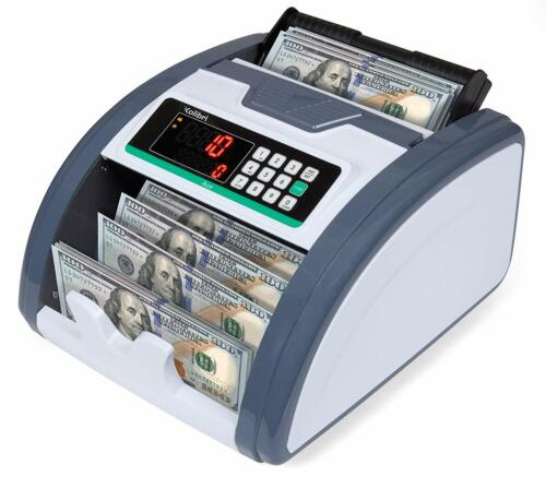 Kolibri Ace Money Counter UV/MG/IR Counterfeit Bill Counter Currency Detection