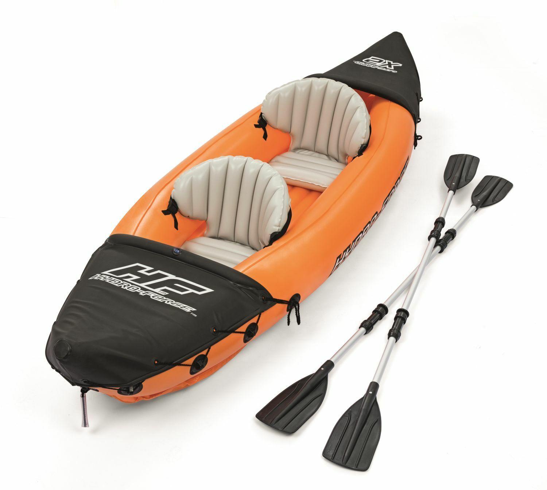 Lite-Rapid X2 Inflatable Kayak Boat Raft with 2 Aluminum Oar