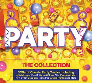 VARIOUS ARTISTS - PARTY - THE COLLECTION: 3CD ALBUM SET (2014)