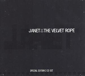 The Velvet Rope Janet Jackson 2 CD UK Import 22 Hits + 5 Bonus cuts Brand New