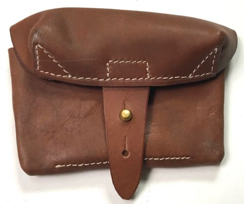 WWII SOVIET RUSSIA SVT-40 RIFLE LEATHER AMMO POUCH