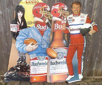 American Budweiser & Coors Cardboard cutouts