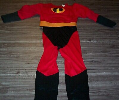 Mr Incredible Costume Child (Disney THE INCREDIBLES CHILDREN'S COSTUME Halloween Dress Up Mr. Incredible)
