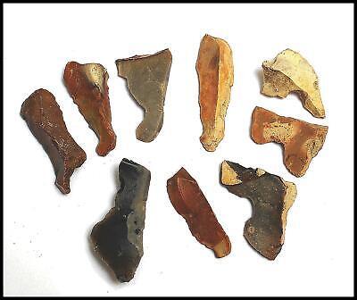 neolithic mesolithic 9 fabricator burin knife blade saw arrow flint tool british