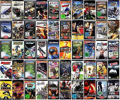 PSP Spiele, nur 1 Spiel auswählen - in OVP - Need for Speed  GTA usw. Kult RAR (Psp-spiele Nur)
