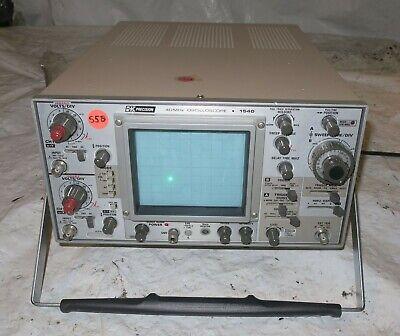 Bk Precision 1540 Model 40 Mhz Oscilloscope