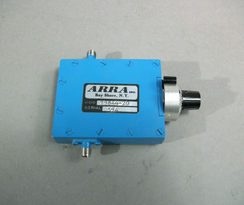 Arra Variable Attenuator Model T9844-20 Free Shipping - New