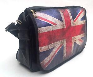 Besace en simili cuir avec drapeau anglais union jack for Pouf avec drapeau anglais