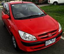 2006 Hyundai Getz with 12 Months Registeration Kings Park Brimbank Area Preview