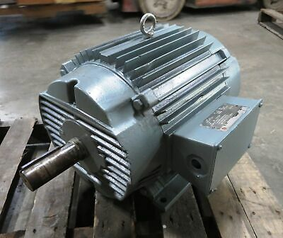 Us Electrical Motors 10hp 1470 Rpm Frame 254t-12 3ph 220380 V 3017.35 A 10 Hp