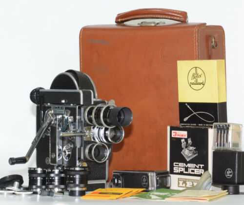 【MINT 6Lens】 Bolex H16 REX4 Kern 75 25 16 Canon 12.5 7.5 3.5 mm Japan send #236