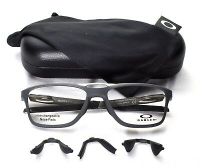 OAKLEY OX8113-0255 Eyeglass/Glasses Frames Gauge 7.2 Interchangeable Nose Pads