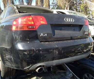 AUDI A4 2017 SEDAN BLACK FOR WRECK OR PART Chipping Norton Liverpool Area Preview