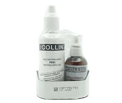GM G.M Collin Gel Neutralisant Peel + Derm Renewal Peel 30 ( 2 Product Pack )