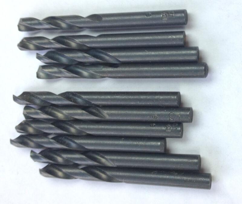 Irwin HSS 12 PCS  #48 M2 Stubby Screw Machine Drill Bits, 135 Deg