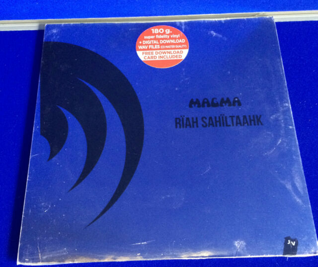 NEW SEAL Jazz Vinyl LP Magma Riah Sahiltaahk Jazz Village