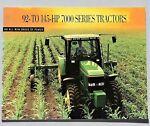 ORIGINAL 1994 JOHN DEERE 7000 SERIES TRACTOR BROCH picture