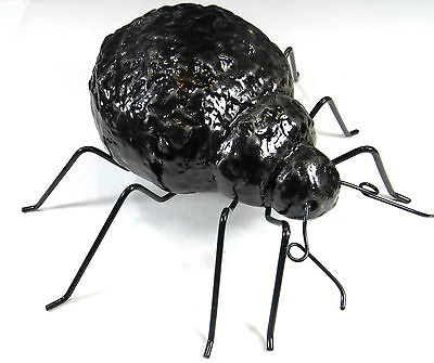 Spider Black Garden Flower Pot Halloween Decor