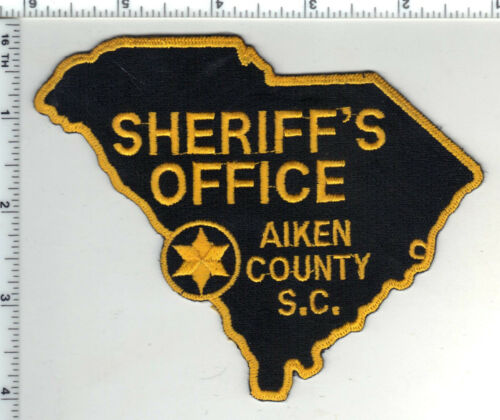 Aiken County Sheriff (South Carolina) 1st Issue Shoulder Patch